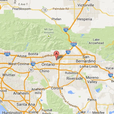 Map California Cambridge College Southern California