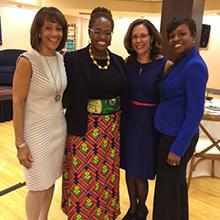 Cambridge College hosted the Massachusetts Women's Forum (MWF)